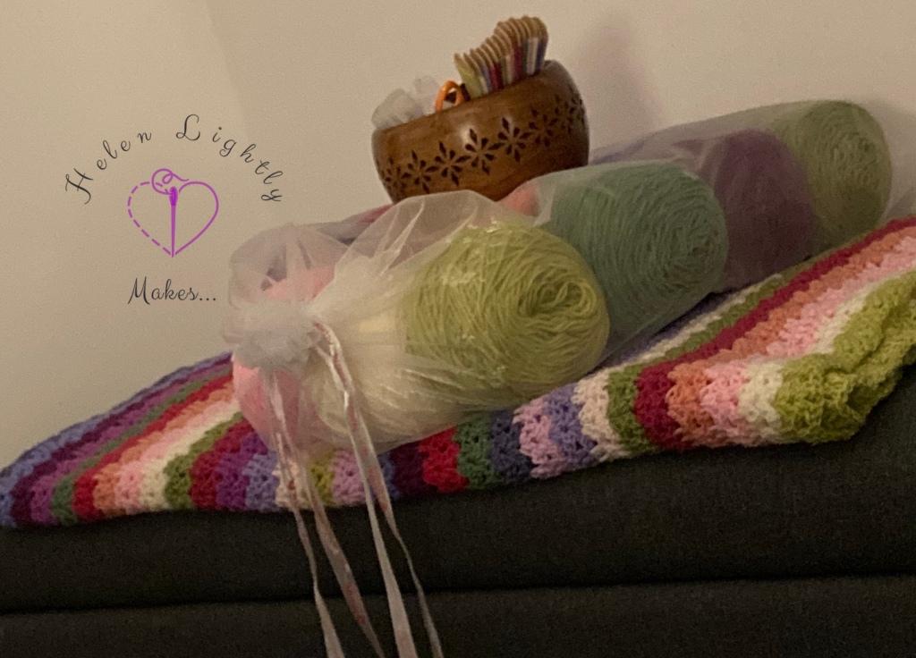 Sweet Pea blanket - WIP